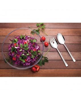 Jogo de Cristal Para Salada Linha Lapidar Com 3 Peças 24,8cm – Tramontina