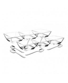 Jogo de Cristal Para Sobremesa Linha Lapidar Com 12 Peças - Tramontina
