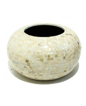Cachepot em Cerâmica Madrepérola 35cm - City Imports